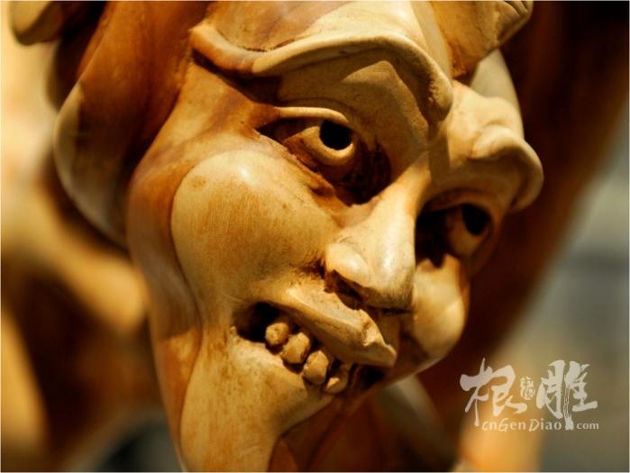 非洲木雕艺术作品