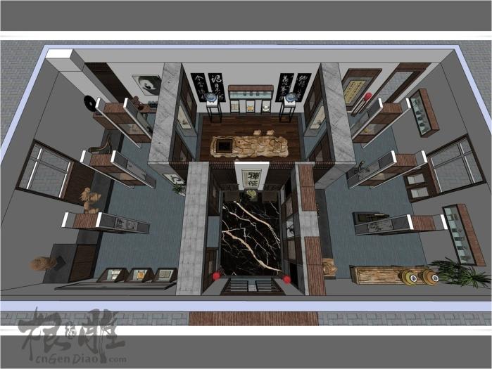 根雕展览馆设计图